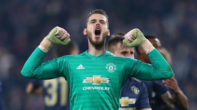 David de Gea is happy to stay at Manchester United and all parties are close to an agreement on his contract, according to Jose Mourinho.