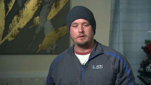 PHOTO: Shane Carey, the fiance of missing Heidi Broussard and father of missing 3-week-old Margot Carey, speaks with ABC News. (ABC News)