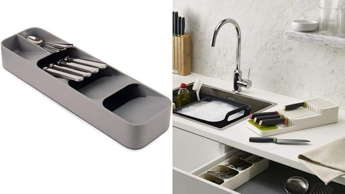 You'll never have to dig for silverware in your drawer again.