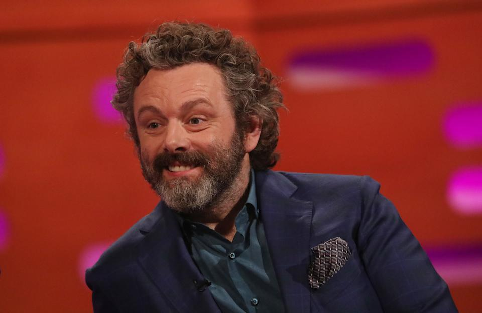 Michael Sheen during the filming for the Graham Norton Show at BBC Studioworks 6 Television Centre, Wood Lane, London, to be aired on BBC One on Friday evening.