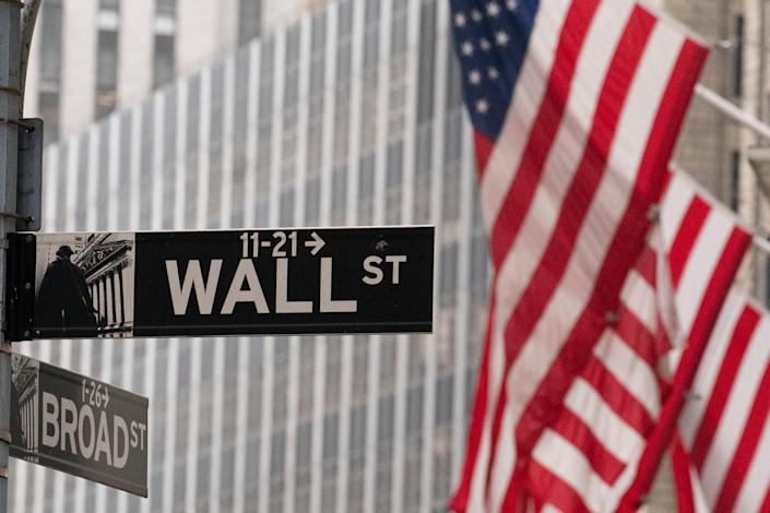 Contested Election Wall Street (Copyright 2020 The Associated Press. All rights reserved)