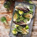 """Flavorful, robust lettuces work best in this recipe. Look for romaine lettuce hearts or large heads of Treviso radicchio, which allow you to get grill marks on one side while the rest wilts. <a href=""""https://www.epicurious.com/recipes/food/views/grilled-lettuces-with-creme-fraiche-and-avocado-51242230?mbid=synd_yahoo_rss"""" rel=""""nofollow noopener"""" target=""""_blank"""" data-ylk=""""slk:See recipe."""" class=""""link rapid-noclick-resp"""">See recipe.</a>"""