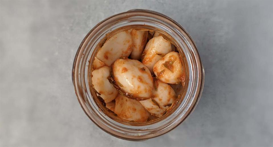 I tried the spicy pickled garlic that's going viral on TikTok.
