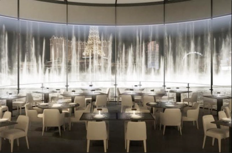 Wolfgang Puck's Spago restaurant at the Bellagio Hotel in Las Vegas.