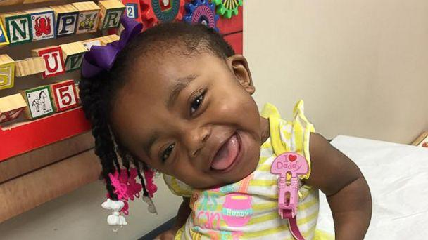 PHOTO: Cyn'niah Burton, aka Little Cee Bitty Bee, has racked up hundreds of thousands of views on Facebook showing off her infectious personality. (Destini Jackson)