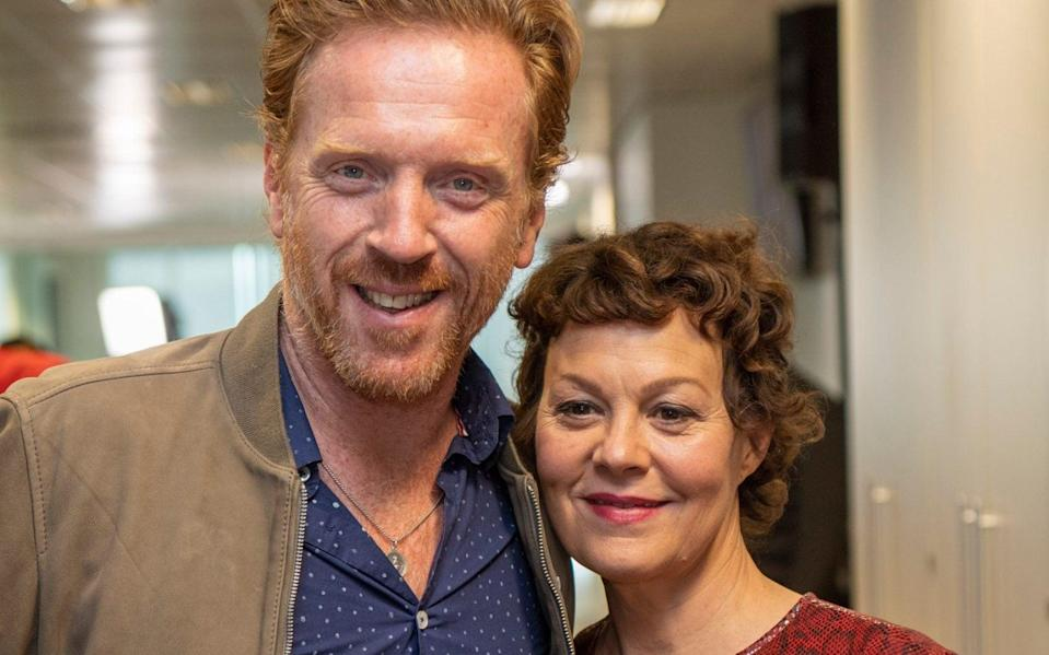 Damian Lewis and Helen McCrory - Paul Grover for the Telergraph