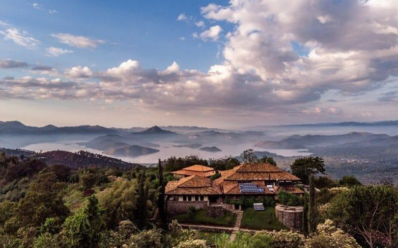 One of Volcanoes Safaris' spectacular lodges