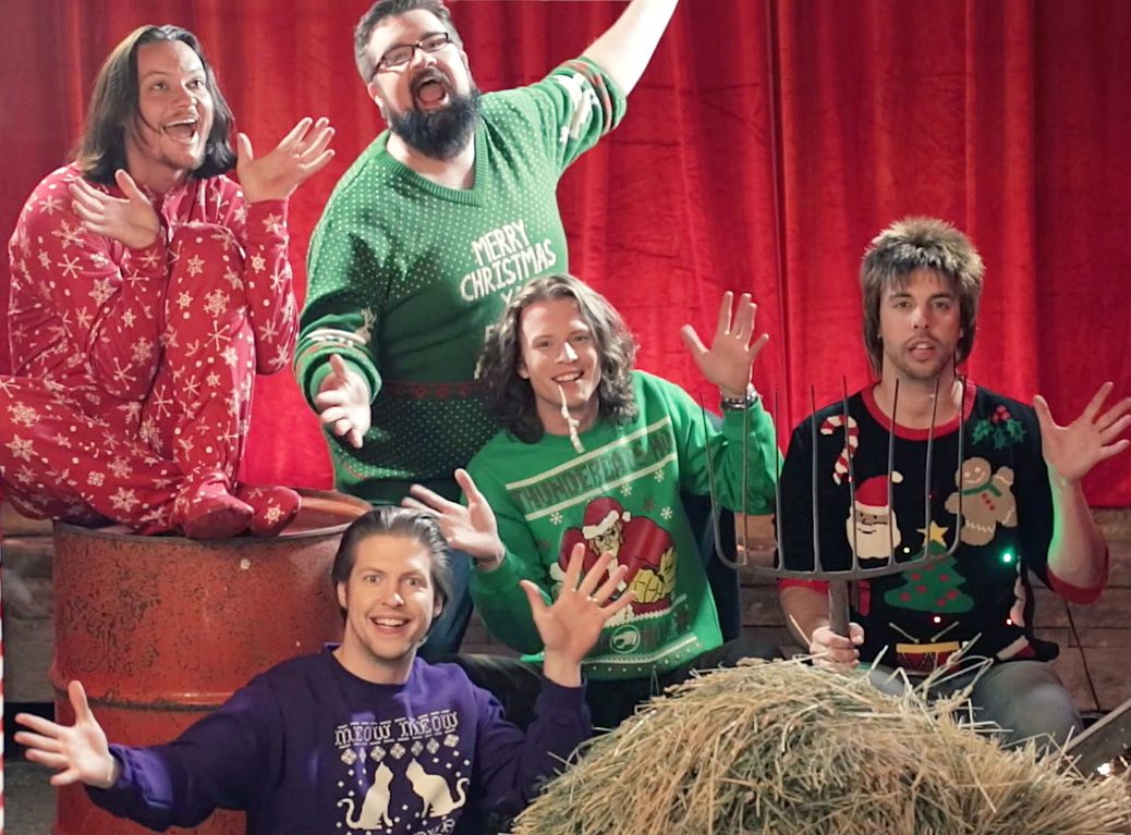 minnesotas home free were crowned the winners of the sing off season 4 last december and their debut album crazy life went to no - Home Free Christmas