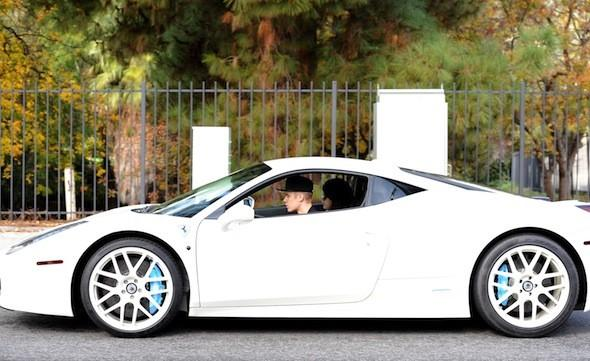 Justin Bieber confronted over reckless driving