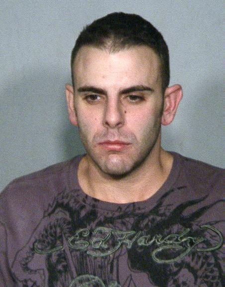 FILE - This police booking file photo provided on Thursday Feb. 3, 2011 by the Las Vegas Metropolitan Police Department shows Anthony M. Carleo, 29, from Las Vegas.  Carleo is scheduled to face a Las Vegas justice of the peace on Monday, Feb. 7, 2011 on armed robbery and burglary charges in the Dec. 14 heist that authorities say netted $1.5 million in casino chips from the posh Bellagio resort on the Las Vegas Strip. (AP Photo/Las Vegas Police Department, File)