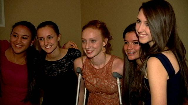 Flesh-Eating Bacteria Survivor Gets Warm Homecoming