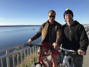 """<p>Arnold Schwarzenegger and his eldest son, Patrick, started Christmas Day with a little exercise. """"Early morning bike ride with the young man,"""" Patrick wrote. """"Merry Christmas to y'all. God bless.""""(Photo: <a rel=""""nofollow noopener"""" href=""""https://twitter.com/PSchwarzenegger/status/813072747668480000"""" target=""""_blank"""" data-ylk=""""slk:Twitter"""" class=""""link rapid-noclick-resp"""">Twitter</a>) </p>"""
