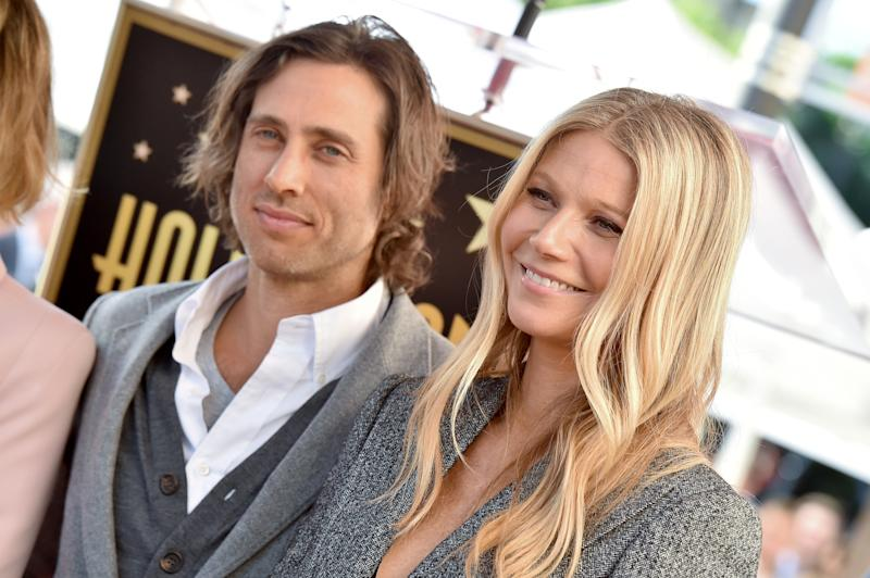 HOLLYWOOD, CA - DECEMBER 04: Brad Falchuk and Gwyneth Paltrow attend the ceremony honoring Ryan Murphy with star on the Hollywood Walk of Fame on December 4, 2018 in Hollywood, California. (Photo by Axelle/Bauer-Griffin/FilmMagic)