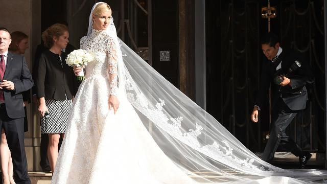 Nicky Hilton\'s Valentino Wedding Dress Is Absolutely Stunning