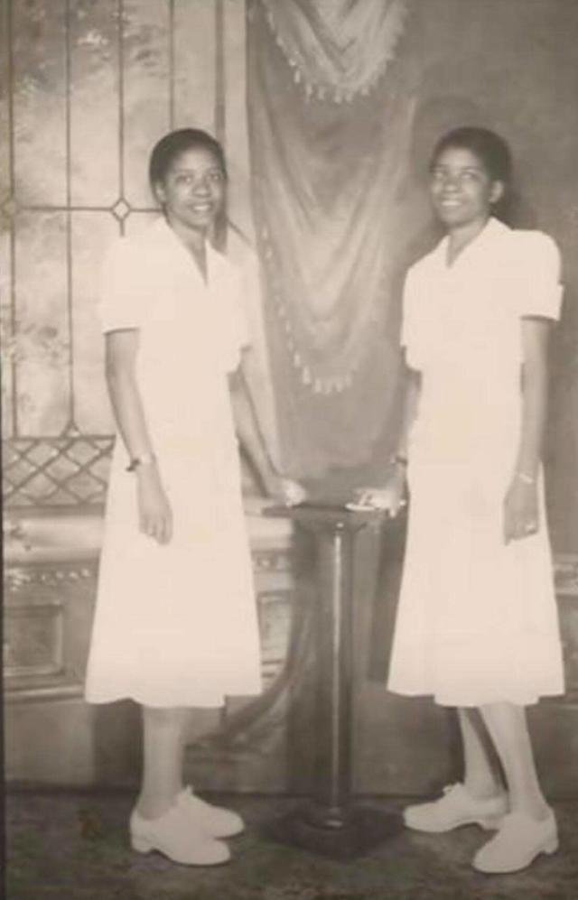 Williams and Atherton both served as nurses. (Photo: Courtesy of Michelle Wright Folarin)