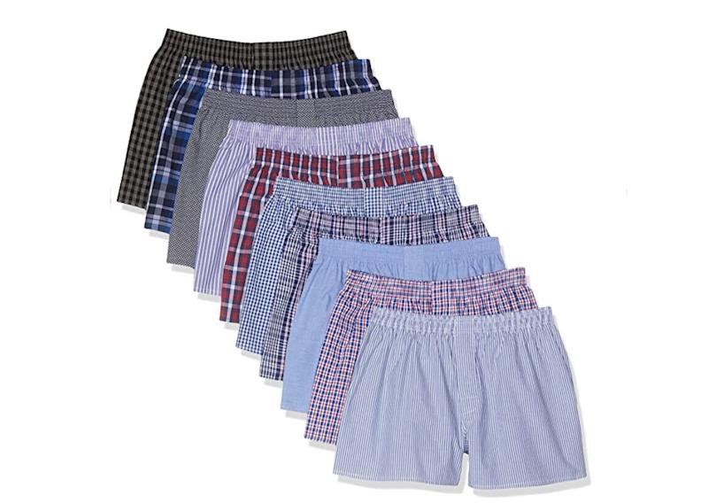 CityLife City Life Boxer Classic, Multicolore (Business Multicolour), Small, Pacco da 10