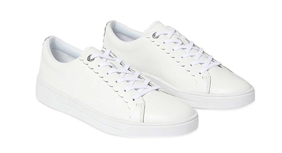 Ted Baker Tillys Leather Lace Up Trainers