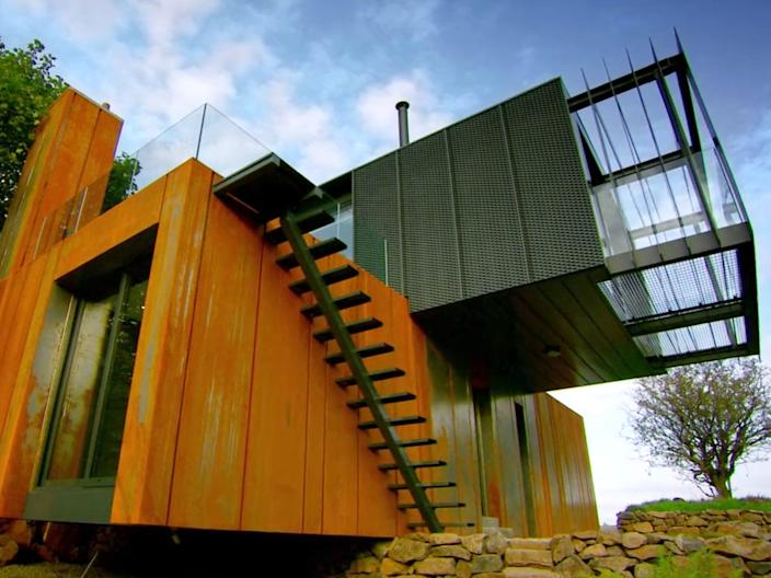 Grand Designs season 12 on Netflix shipping container house Channel 4