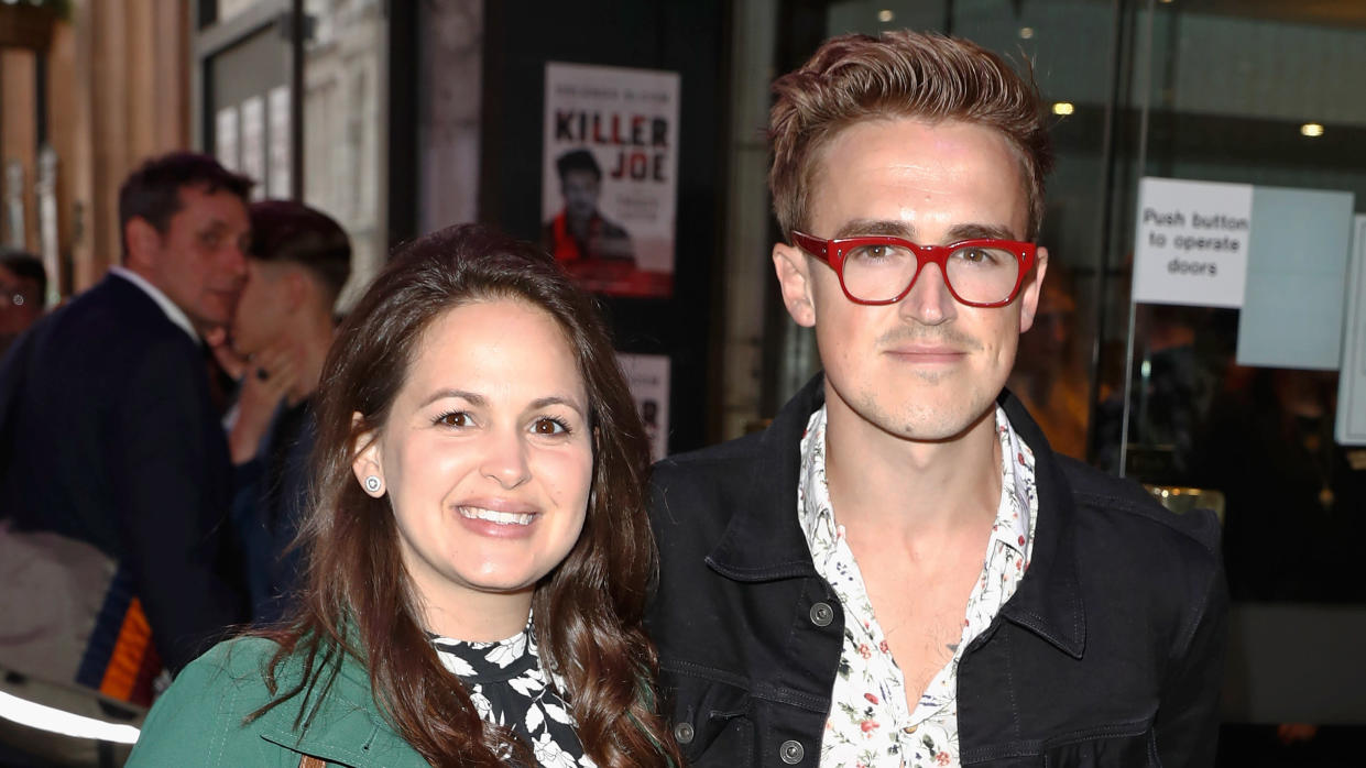 Giovanna and Tom Fletcher have been married since 2012 and have three sons. (John Phillips/Getty Images)