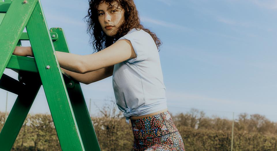 Liberty launches its first ever range of printed leggings - and they're our latest must have.  (Liberty London)