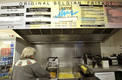 """Without frites Belgium doesn't exist,"" said fritkot operator Vuistema Kemal"