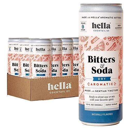 """<p><strong>Hella Cocktail Co.</strong></p><p>amazon.com</p><p><strong>$35.95</strong></p><p><a href=""""https://www.amazon.com/dp/B081S9LZTD?tag=syn-yahoo-20&ascsubtag=%5Bartid%7C10067.g.35992615%5Bsrc%7Cyahoo-us"""" rel=""""nofollow noopener"""" target=""""_blank"""" data-ylk=""""slk:Shop Now"""" class=""""link rapid-noclick-resp"""">Shop Now</a></p><p>Whether you use it as an effortless answer to the need for a <a href=""""https://www.townandcountrymag.com/leisure/drinks/how-to/g785/best-mocktail-recipes/"""" rel=""""nofollow noopener"""" target=""""_blank"""" data-ylk=""""slk:grown-up feeling mocktail"""" class=""""link rapid-noclick-resp"""">grown-up feeling mocktail</a> or as a mixer for your favorite spirit, this sugar-free, bubbling bitters can is just the refresher you need. </p><p><strong>More:</strong> <a href=""""https://www.townandcountrymag.com/leisure/drinks/g34905525/best-non-alcoholic-liquor-spirits/"""" rel=""""nofollow noopener"""" target=""""_blank"""" data-ylk=""""slk:The Best Non-Alcoholic Spirits"""" class=""""link rapid-noclick-resp"""">The Best Non-Alcoholic Spirits</a></p>"""