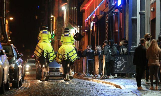 Coronavirus restrictions: Extra officers deployed on Liverpool's streets as local leaders 'would welcome army's support'