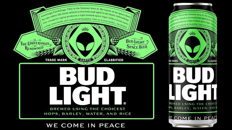 Bud Light promises to give free beer to Area 51 aliens