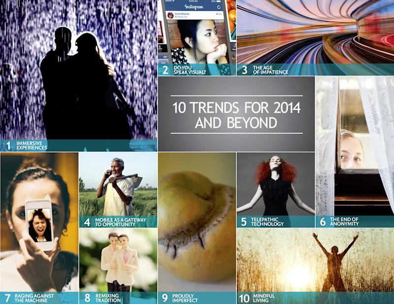 Trends for 2014: We Seek Imperfect, Human Moments. With Our Smartphones at the Ready.