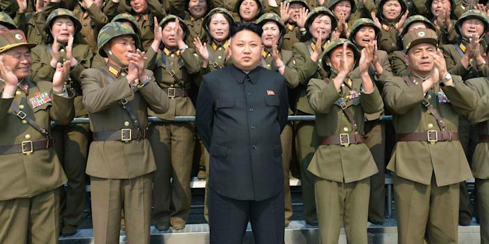 North Korean leader Kim Jong Un in an undated photo released by North Korea's Korean Central News Agency in 2014.