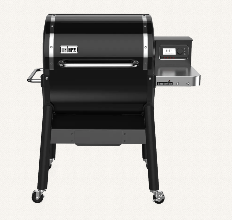 Weber SmokeFire Wood Fired Pellet Barbecue, $1999,
