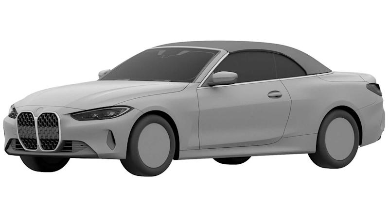 2022 BMW 4 Series Convertible patent