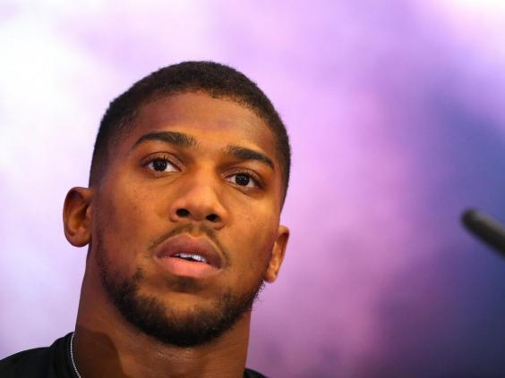 Anthony Joshua is looking to reclaim his three belts from Andy Ruiz (Getty)