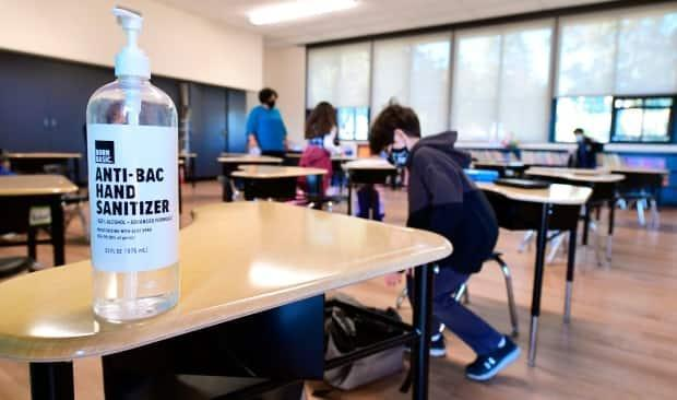 Students in Windsor-Essex returned to the classroom earlier this month after in-person learning was cancelled for over a month. (Frederic J. Brown/AFP/Getty Images - image credit)