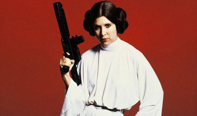 Carrie Fisher as Princess Leia (Photo: LucasFilm)