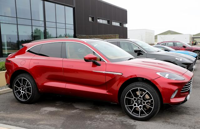 Aston Martin's first SUV the Aston Martin DBX at the carmaker's new factory in St Athan, Wales, United Kingdom. Photo: Chris Jackson/Getty Images