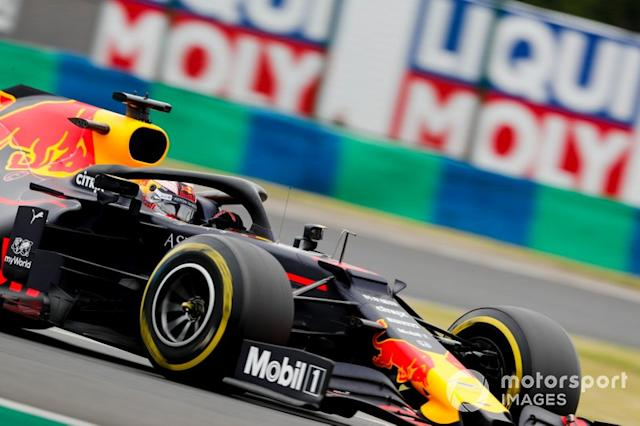 "Max Verstappen, Red Bull Racing RB15 <span class=""copyright"">Steven Tee / LAT Images</span>"