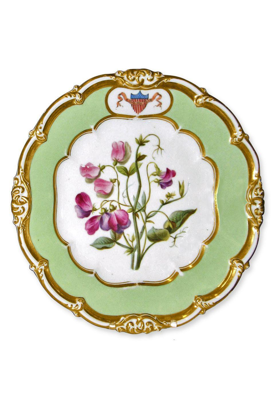 <p><strong>What it was worth (2009):</strong> $25,000</p><p><strong>What it's worth now:</strong> $5,000</p><p>This China plate from James Polk's presidency is now worth just a fifth of its original appraisal.</p>