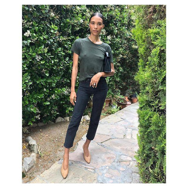 """<p>If the chic minimalism of Jane Birkin, Carolyn Bessette-Kennedy and Depp-era Kate Moss is your cup of tea then look no further than <a href=""""https://jeanerica.com/"""" rel=""""nofollow noopener"""" target=""""_blank"""" data-ylk=""""slk:Jeanerica"""" class=""""link rapid-noclick-resp"""">Jeanerica</a>. </p><p>The brand specialises in organic cotton denim pieces and organic or recycled cotton t-shirts all in the perfect cut. With the limited use of the famously thirsty plant that cotton is, and also limiting the polluting washing and finishing process, these are relatively guilt-free cotton items.</p><p><a class=""""link rapid-noclick-resp"""" href=""""https://jeanerica.com/"""" rel=""""nofollow noopener"""" target=""""_blank"""" data-ylk=""""slk:SHOP JEANERICA NOW"""">SHOP JEANERICA NOW</a></p><p><a href=""""https://www.instagram.com/p/By45KerCUmc/"""" rel=""""nofollow noopener"""" target=""""_blank"""" data-ylk=""""slk:See the original post on Instagram"""" class=""""link rapid-noclick-resp"""">See the original post on Instagram</a></p>"""