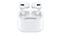"""AirPods Pro are the first in-ear headphones to have Active Noise Cancellation technology. So, they continuously adapt to block out the world around you. The smart headphones also came with an all-new design that brings improved comfort thanks to a flexible silicone ear tip that conforms to your individual ear shape.<a href=""""https://amzn.to/2YgjzYB"""" rel=""""nofollow noopener"""" target=""""_blank"""" data-ylk=""""slk:Shop now"""" class=""""link rapid-noclick-resp""""><strong>Shop now</strong></a>."""