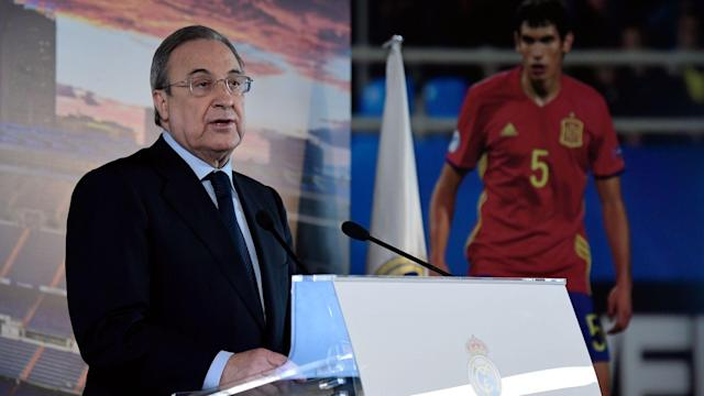 Real Madrid Florentino Perez
