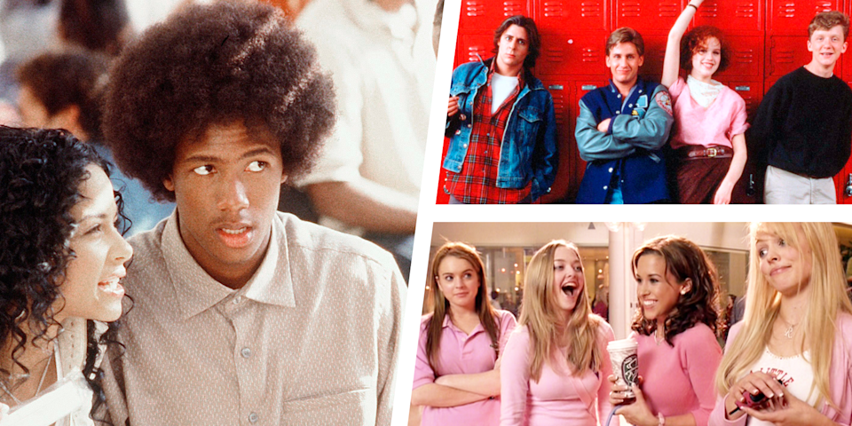 """<p>Teen movies are great because while the category can definitely stand on its own, teen movies can also easily fall into other genres—horror, comedy, romance, drama—and the best teen movies combine elements of several genres. There's also something about watching a coming of age film that is all too relatable, from the social insecurity to the butting of heads with parents who just don't understand.<br></p><p>In 2019, TV psychologist Honey Langcaster-James talked to <a href=""""https://www.refinery29.com/en-us/2019/10/8637711/why-adults-love-teen-movies"""" rel=""""nofollow noopener"""" target=""""_blank"""" data-ylk=""""slk:Refinery 29"""" class=""""link rapid-noclick-resp"""">Refinery 29</a> about the allure of teen movies: """"One of the things that we do with entertainment is we gain mastery over potentially difficult emotions. Some people wonder why anybody would ever want to watch a horror movie or a thriller. Why would you want to sit and be scared? But there is an element of reassurance in being able to experience those emotions from a removed perspective and I wonder if the same can be said for teen fiction. Through the processes of empathy with the character, you're experiencing those emotions that were challenging. But now, from this more mature perspective, you're gaining an opportunity to master those emotions that you once felt so consumed by and now can have a more detached and bemused look upon that time in your life.""""</p><p>To celebrate the genre, three of our editors came together make a list of our favorite teen films. This list can't cover every single teen movie, but we hope it contains some of your favorites, as well as some new picks for you to check out. So without further ado, here are the 45 best teen films of all time.</p>"""