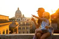 <p>Italy's mean age surpassed 45 for the first time to become 47.3 in 2020, making it one of the oldest populations in the world. The fertility rate for Italy is 1.3 – a decline of 0.46 per cent from last year.</p> <p>Last year, a record low of 464,000 babies were born. Further, its deaths in 2020 alone were 746,146 – the highest since World War 2, and widening the ever-growing gap between death and birth rates.</p> <p>The country is trying to halt this decline. A huge part of the country's 222.1 billion Eur coronavirus recovery package will go into investing in more daycare centres and nurseries and elementary schools, thereby encouraging couples to have more children.</p> <p><strong><em>Image credit: </em></strong>Mother and baby girl sitting on street overlooking rooftops of Rome on sunset and pointing</p>