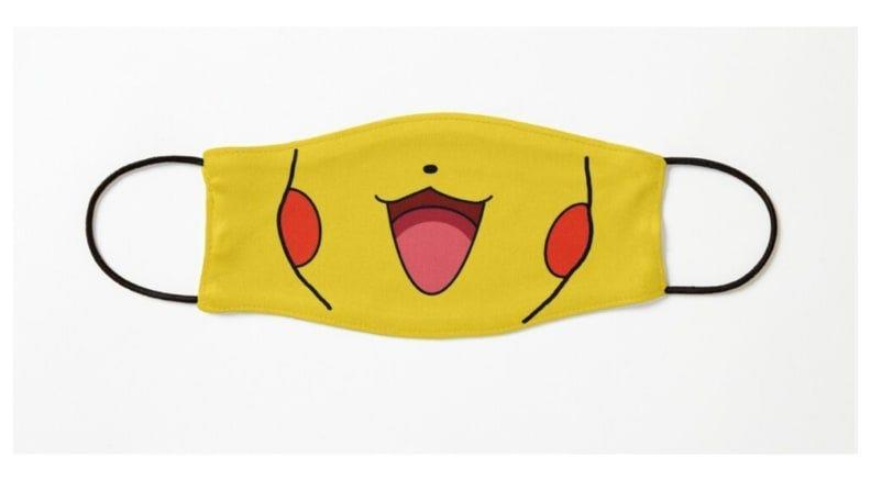 Your little one will look adorable as Pikachu in this happy mask.