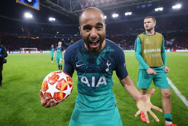 Lucas Moura. / Foto: Getty Images