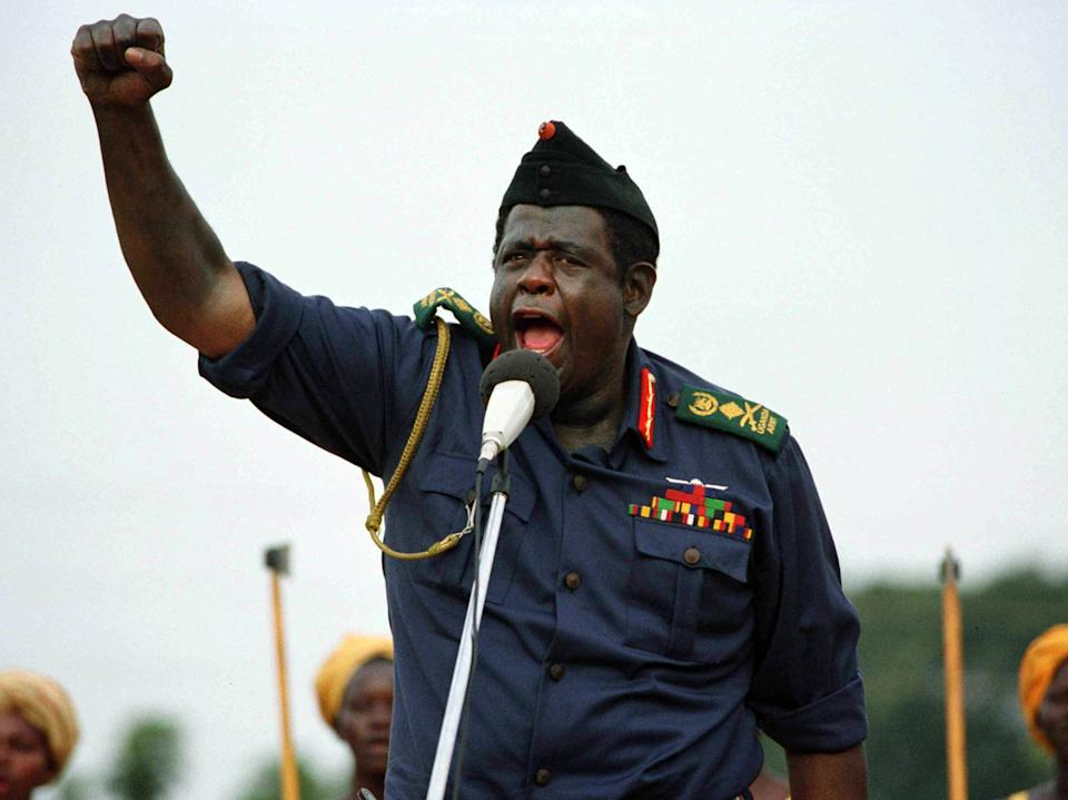 Whitaker won an Oscar for his committed performance as Idi Amin in 'The Last King of Scotland'20th Century Fox