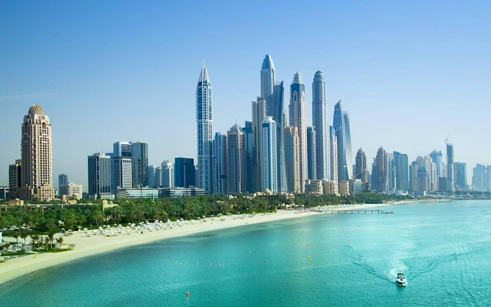 Dubai is hoping to reopen to tourism from July 7 - Getty