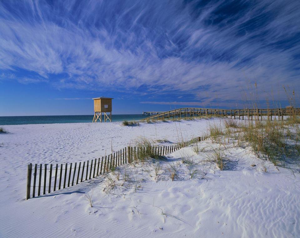 <p>Another Panhandle locale, this destination includes 12 unique areas that stretch from Cat Island, Mississippi to just east of Fort Walton Beach, Florida. Highlights include Perdido Key and Santa Rosa beaches, which are considered some of the best in Florida, if not the entire country, thanks to picturesque emerald waters and pristine white sands. </p>
