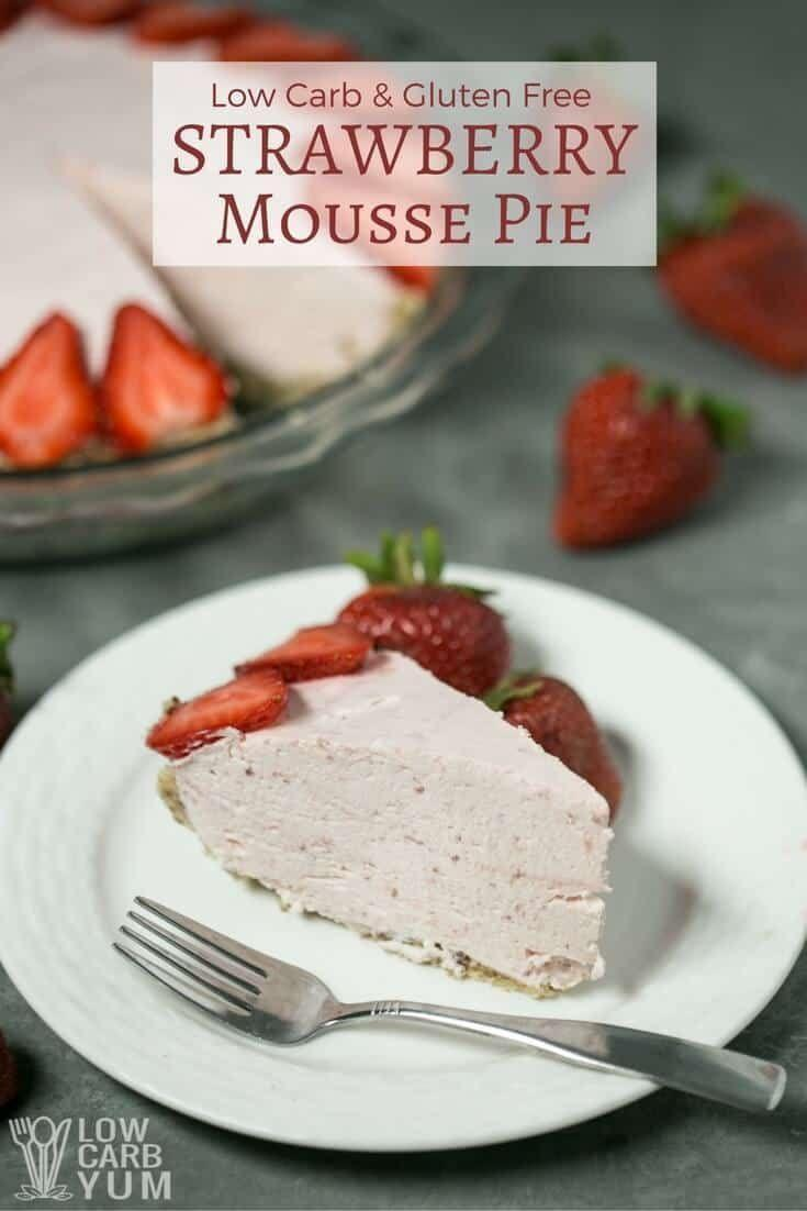 """<p>Though low in sugar, this creamy mousse pie packs loads of protein, making it probably the most satiating no-bake dessert on the list. </p><p><a class=""""link rapid-noclick-resp"""" href=""""https://lowcarbyum.com/strawberry-mousse-pie/"""" rel=""""nofollow noopener"""" target=""""_blank"""" data-ylk=""""slk:GET THE RECIPE"""">GET THE RECIPE</a></p><p><em>Per serving: 360 calories, 31 g fat (14 g saturated), 7 g carbs, 109 mg sodium, 3 g fiber, 4 g sugar, 15 g protein</em></p>"""