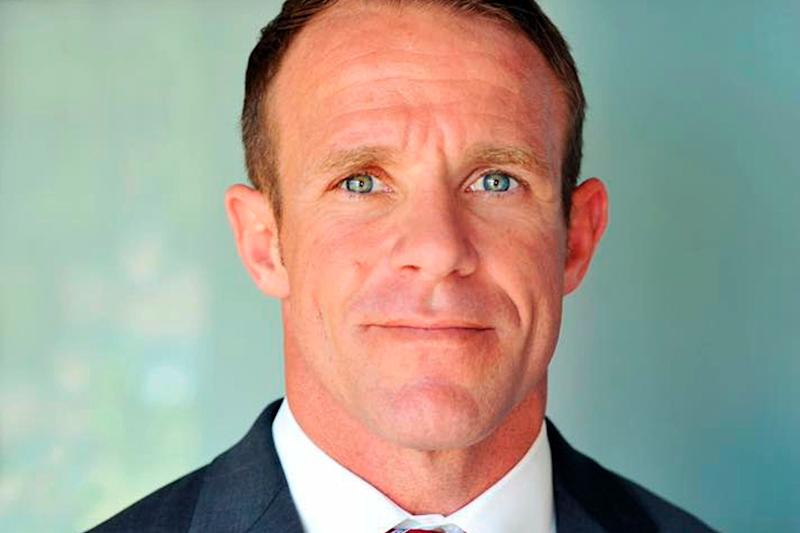 Navy SEAL Edward Gallagher is seen in a 2018 file photo. (Photo: Associated Press)